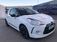 2013 CITROEN DS3 1.6 E-HDI DSTYLE PLUS 3d 90 BHP £7495.00