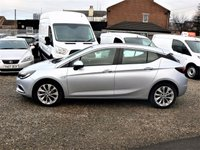 USED 2016 66 VAUXHALL ASTRA 1.6 DESIGN CDTI 5d  £0 ROAD TAX / FINANCE AVAILABLE