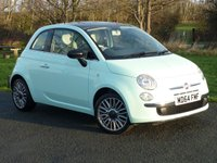 USED 2015 64 FIAT 500 1.2 CULT 3d 69 BHP WITH 1 YEAR FREE STANDARD AA MEMBERSHIP** RARE 'CULT EDITION' ONE PRIVATE OWNER EXAMPLE WITH FULL SERVICE HISTORY
