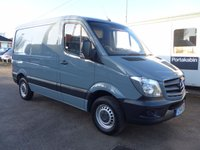 2014 MERCEDES-BENZ SPRINTER 210 CDI SWB, 95 BHP [EURO 5], 1 COMPANY OWNER £SOLD