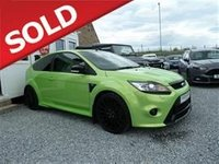 USED 2009 FORD FOCUS 2.5 20V (305ps) RS Hatchback 3d 2522cc