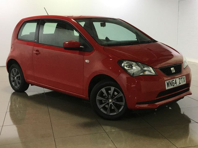 View our 2014 64 SEAT MII 1.0 I-TECH 3d 59 BHP