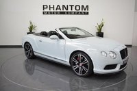 2013 BENTLEY CONTINENTAL 4.0 GTC V8 2d AUTO 500 BHP £88990.00