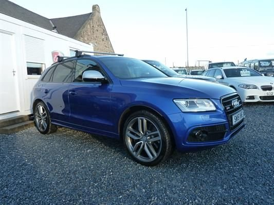 2015 AUDI SQ5 3.0BiTDI (313ps) quattro (s/s) Station Wagon 5d 2967cc Tiptronic