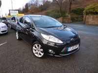 USED 2013 13 FORD FIESTA 1.4 TITANIUM TDCI 5d 70 BHP A BEAUTIFUL HIGH SPEC TITANIUM FIESTA DIESEL WITH GENUINE LOW MILES, LONG MOT AND FULL SERVICE HISTORY!