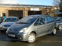 USED 2004 04 CITROEN XSARA PICASSO 1.8 PICASSO DESIRE 16V 5d 117 BHP GREAT VALUE+GOOD HISTORY, NEW MOT ON SALE,