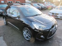 2015 CITROEN DS3 1.6 THP DSPORT PLUS S/S 3d 163 BHP + LEATHER + LOW MILES £9499.00