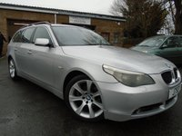 USED 2005 J BMW 5 SERIES 2.5 525D SE TOURING 5d AUTO 175 BHP DIESEL ESTATE+GREAT SERVICE HISTORY