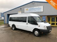 2012 FORD TRANSIT 2.2 430 SHR BUS 17 STR 1d 134 BHP £7995.00