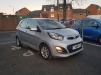 USED 2014 64 KIA PICANTO 1.2 2 5d AUTO 84 BHP KIA WARRANTY FOR 7 YEARS FROM NEW!!...EXCELLENT FUEL ECOONMY!!..LOW CO2 EMISSIONS..FULL HISTORY...ONLY 9570 MILES FROM NEW!!