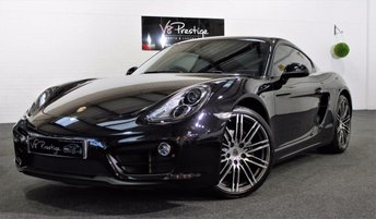 2016 PORSCHE CAYMAN Black Edition 2.7 PDK £46955.00