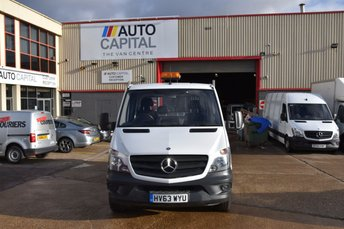2013 MERCEDES-BENZ SPRINTER 2.1 313 CDI D/C MWB 4d 129 BHP 6 SEATER DIESEL MANUAL DIESEL TIPPER £10990.00