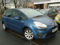 USED 2010 10 CITROEN C4 PICASSO 1.6 VTR PLUS HDI EGS 5d AUTO 107 BHP LOW MILEAGE+GOOD HISTORY