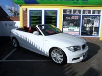 USED 2011 60 BMW 1 SERIES 2.0 118D M SPORT 2d 141 BHP JUST ARRIVED RED LEATHER M SPORT