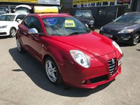 USED 2010 10 ALFA ROMEO MITO 1.6 VELOCE JTDM 3 DOOR 120 BHP IN RED WITH 52000 MILES. APPROVED CARS ARE PLEASED TO OFFER THIS  ALFA ROMEO MITO 1.6 VELOCE JTDM 3 DOOR 120 BHP IN RED WITH 52000 MILES WITH A FULL SERVICE HISTORY SERVICED AT 10K,17K,26K,31K,38K AND 44K A STUNNING EXAMPLE WITH LOW MILEAGE.