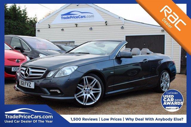 View our 2011 11 MERCEDES-BENZ E CLASS 3.0 E350 CDI BLUEEFFICIENCY SPORT 2d AUTO 231 BHP