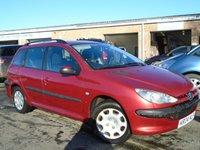 USED 2004 04 PEUGEOT 206 1.4 SW S 5d 74 BHP NEW MOT ON SALE+VALUE ESTATE