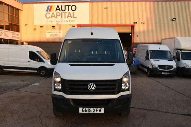 2015 15 VOLKSWAGEN CRAFTER CRAFTER CR35 TDI H/R LONG WHEELBASE P/V 5d 135 BHP REAR WD NAVI. CD PLAYER BLUETOOTH  ONLY ONE OWNER FROM NEW