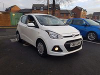 USED 2015 65 HYUNDAI I10 1.0 SE BLUE DRIVE 5d 65 BHP 5 YEAR HYUNDAI WARRANTY FROM NEW! WITH AIR CONDITIONING, AUXILLIARY INPUT, CRUISE CONTROL, MEDIA CONNECTIVITY, TRACTION CONTROL!!....EXCELLENT FUEL ECONOMY!..LOW CO2 EMISSIONS..£20 ROAD TAX