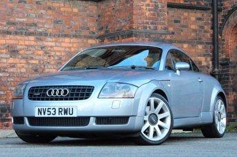 2003 AUDI TT 1.8 T Coupe Quattro 3dr £2777.00