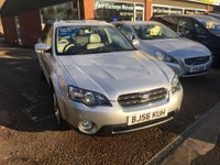 USED 2006 56 SUBARU OUTBACK 3.0 R AWD 5 DOOR AUTOMATIC 245 BHP IN SILVER WITH LOW MILEAGE.  APPROVED CARS ARE PLEASED TO OFFER THIS SUBARU OUTBACK 3.0 R AWD 5 DOOR AUTOMATIC 245 BHP IN SILVER WITH LOW MILEAGE AND A FULL SERVICE HISTORY SERVICED AT 600 MILES,12K,25K,28K,37K,48K,63K,71K AND 77K A SUPERB 4X4 ESTATE CAR AND A VERY RARE CAR.