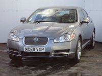 2010 JAGUAR XF 3.0 V6 LUXURY 4d AUTO 240 BHP £9488.00