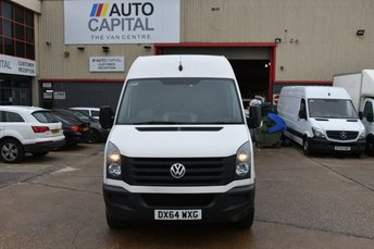 2014 VOLKSWAGEN CRAFTER CRAFTER CR35 TDI 2.0 5d 135 BHP REAR WD HIGH ROOF LONG WHEELBASE NAVIGATION CRUISE CONTROL  BLUETOOTH  £9750.00
