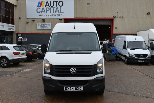2014 64 VOLKSWAGEN CRAFTER CRAFTER CR35 TDI 2.0 5d 135 BHP REAR WD HIGH ROOF LONG WHEELBASE NAVIGATION CRUISE CONTROL  BLUETOOTH  ONLY ONE OWNER FROM NEW