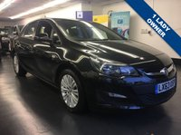 2013 VAUXHALL ASTRA 1.6 ENERGY 5d 113 BHP £SOLD