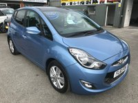 USED 2011 61 HYUNDAI IX20 1.6 STYLE 5 DOOR AUTOMATIC 123 BHP IN MET BLUE APPROVED CARS ARE PLEASED TO OFFER THIS  HYUNDAI IX20 1.6 STYLE 5 DOOR AUTOMATIC 123 BHP IN MET BLUE WITH A FULL SERVICE HISTORY,THE CARS A TWO OWNER CAR WITH AN AUTOMATIC GEARBOX IN THIS VERY POPULAR MODEL.