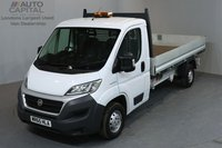 USED 2015 65 FIAT DUCATO 2.3 35 S/C MULTIJET 2d 129 BHP LWB ELECTRIC WINDOWS MIRRORS DROPSIDE LORRY ONE OWNER FROM NEW