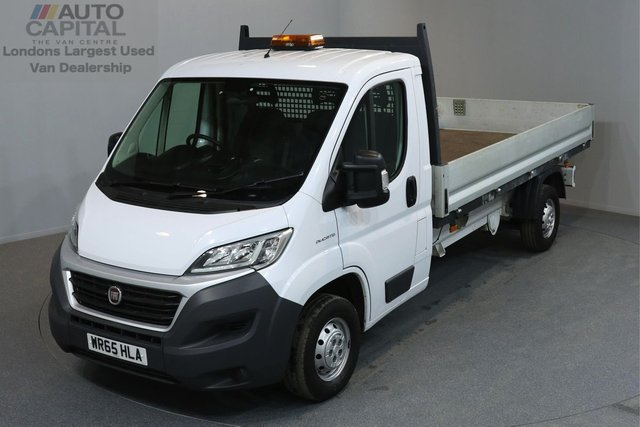 2015 65 FIAT DUCATO 2.3 35 S/C MULTIJET 2d 129 BHP LWB ELECTRIC WINDOWS MIRRORS DROPSIDE LORRY ONE OWNER FROM NEW