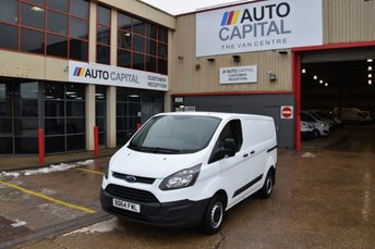 2014 FORD TRANSIT CUSTOM 2.2 290 LR P/V 5d 100 BHP SWB ECO-TECH FWD L1 DIESEL MANUAL PANEL VAN £7490.00