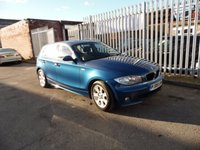 2005 BMW 1 SERIES 2.0 120D SE 5d 161 BHP £SOLD