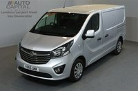 USED 2015 65 VAUXHALL VIVARO 1.6 2900 L1H1 CDTI P/V SPORTIVE 5d SWB AIR CONDITION CRUISE CONTROL ECO DRIVE ONE OWNER FROM NEW