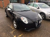 USED 2013 13 ALFA ROMEO MITO 1.4 TB MULTIAIR DISTINCTIVE 3d 135 BHP IN BLACK APPROVED CARS ARE PLEASED TO OFFER THIS  ALFA ROMEO MITO 1.4 TB MULTIAIR DISTINCTIVE 3 DOOR 135 BHP IN BLACK WITH A FULL SERVICE HISTORY AND ONLY 2 OWNERS A STUNNING LOOKING CAR AND A GREAT DRIVE.