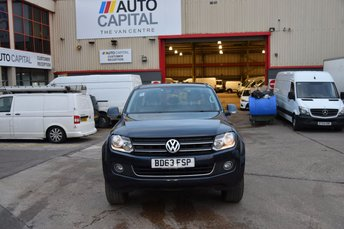 2013 VOLKSWAGEN AMAROK 2.0 DC TDI HIGHLINE 4MOTION 4d AUTO 180 BHP AIR CON 4X4 DIESEL PICK UP £10990.00