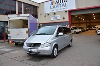 USED 2011 11 MERCEDES-BENZ VIANO 3.5 EXTRA LONG AMBIENTE 8STR 5d 258 BHP AIR CON GAS BI-FUEL PETROL MINIBUS LOVELY DRIVE TV SCREEN