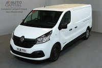 USED 2016 16 RENAULT TRAFIC 1.6 LL29 BUSINESS PLUS ENERGY 140 BHP LWB LOW ROOF A/C 2 OWNER FROM NEW