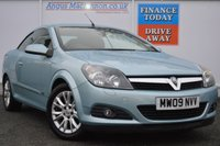 USED 2009 09 VAUXHALL ASTRA 1.8 TWIN TOP SPORT 3d 140 BHP Very low milage