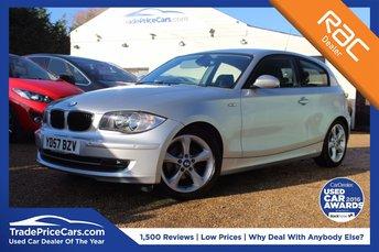 2007 BMW 1 SERIES 2.0 118I SE 3d 141 BHP £4850.00