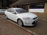 USED 2014 14 FORD MONDEO 2.0 ZETEC BUSINESS EDITION TDCI 5d 161 BHP 1 OWNER FROM NEW, FULL SERVICE HISTORY, £30 ROAD TAX, 2 KEYS, SAT-NAV