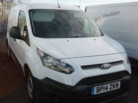 2014 FORD TRANSIT CONNECT 1.6 210 P/V 1d 94 BHP LONG WHEELBASE VAN £7995.00