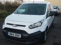 2014 FORD TRANSIT CONNECT 1.6 210 P/V 1d 94 BHP LONG WHEELBASE VAN £SOLD