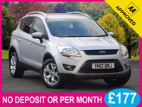 USED 2012 12 FORD KUGA 2.0 TDCI  ZETEC 4X4 AWD 5dr 4X4 AWD BLUETOOTH PHONE SPLIT TAILGATE AIR CON