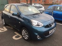 USED 2015 64 NISSAN MICRA 1.2 ACENTA 5d AUTO 79 BHP WITH SATELLITE NAVIGATION, AUX, MEDIA AND AIR CONDITIONING!!..EXCELLENT FUEL ECONOMY!!..LOW CO2 EMISSIONS..LOW ROAD TAX...FULL HISTORY..ONLY 4556 MILES FROM NEW!!