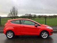 2015 FORD FIESTA 1.2 ZETEC 3d 81 BHP £6995.00