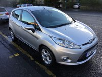 USED 2011 11 FORD FIESTA 1.4 TITANIUM TDCI 5d 68 BHP PRICE INCLUDES A 6 MONTH AA WARRANTY DEALER CARE EXTENDED GUARANTEE, 1 YEARS MOT AND A OIL & FILTERS SERVICE. 12 MONTHS FREE BREAKDOWN COVER.