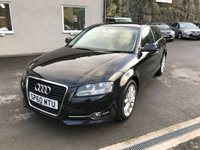 USED 2010 60 AUDI A3 2.0 TDI SPORT 3d 138 BHP ONLY 2 FORMER KEEPERS * SOLD WITH FULL MOT + SERVICE *
