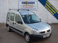 USED 2008 58 RENAULT KANGOO 1.6 AUTHENTIQUE 16V 5d AUTO 94 BHP Wheelchair Access Lever Control 0% Deposit Finance Available